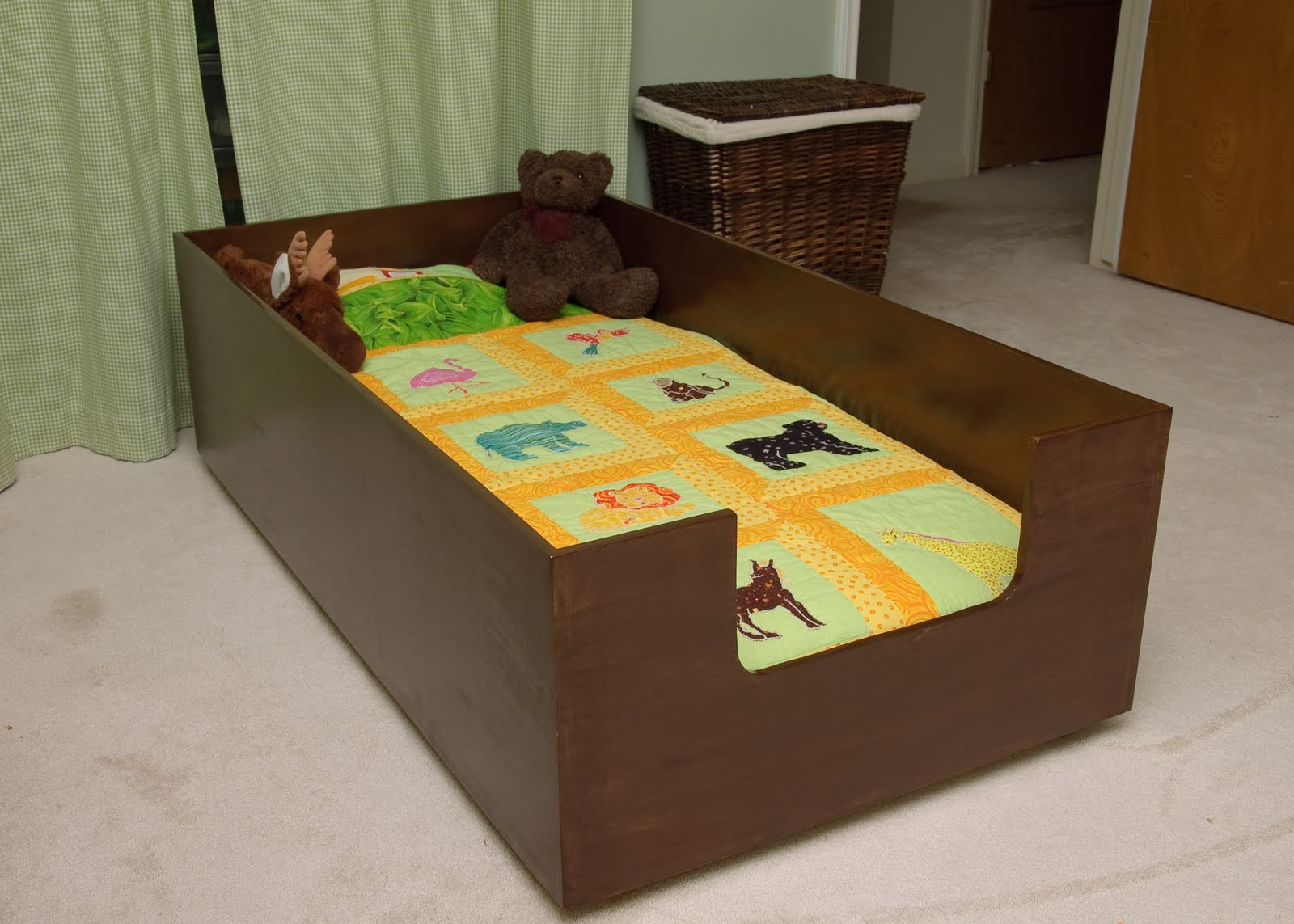 Lilybug Designs Toddler Bed