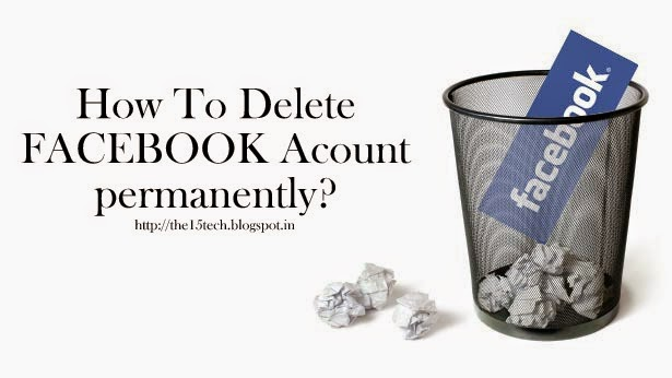 how to permanently delete your facebook account yahoo
