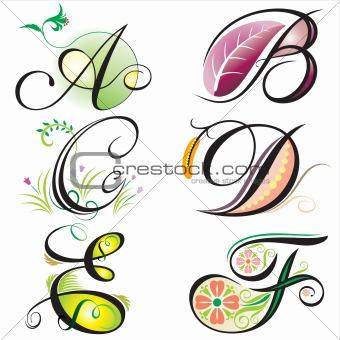 A Alphabet Design Letter B tattoos design and Letter B tattoos images -