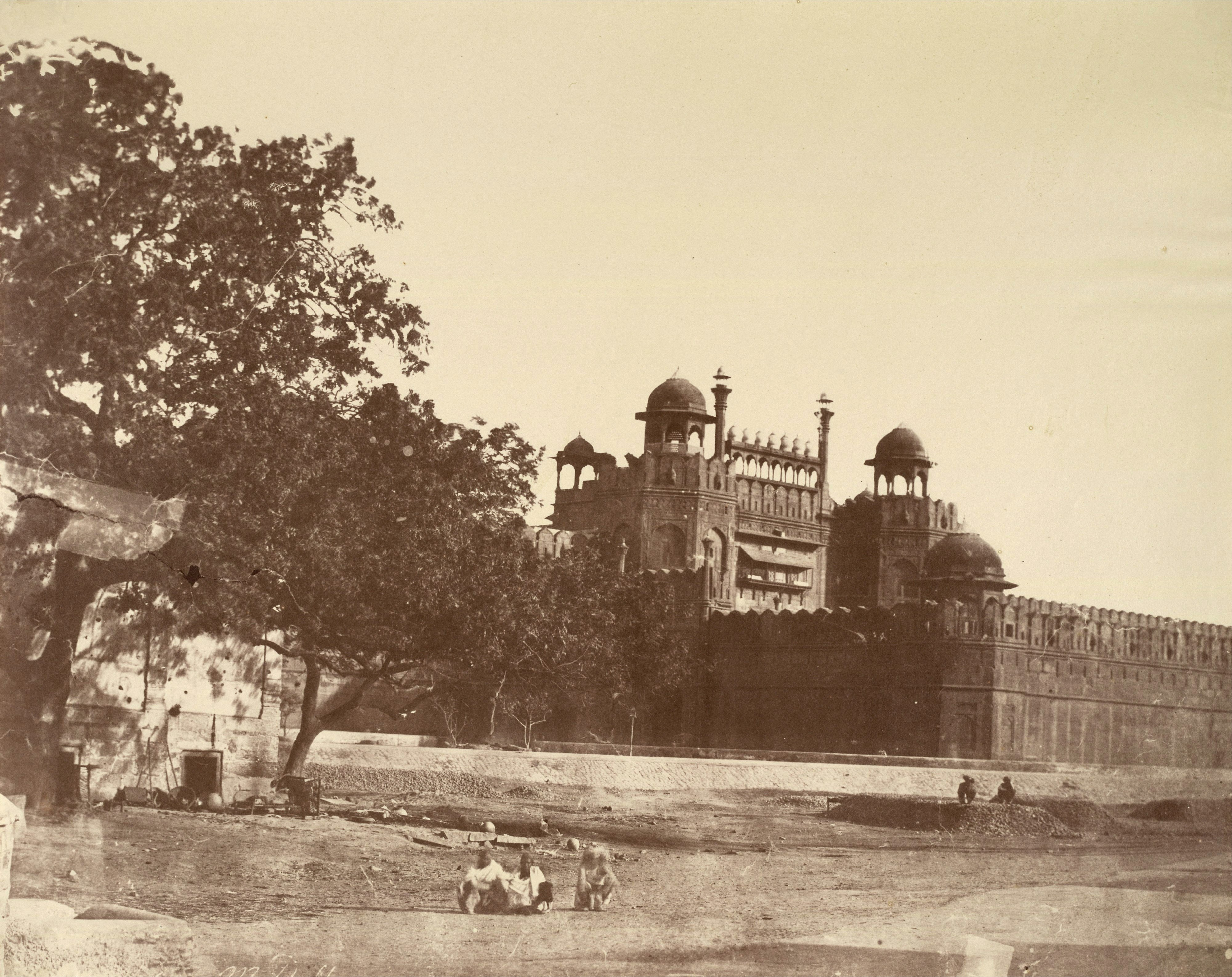 The Lahore Gate Western Gate Of Red Fort Or Lal Qila