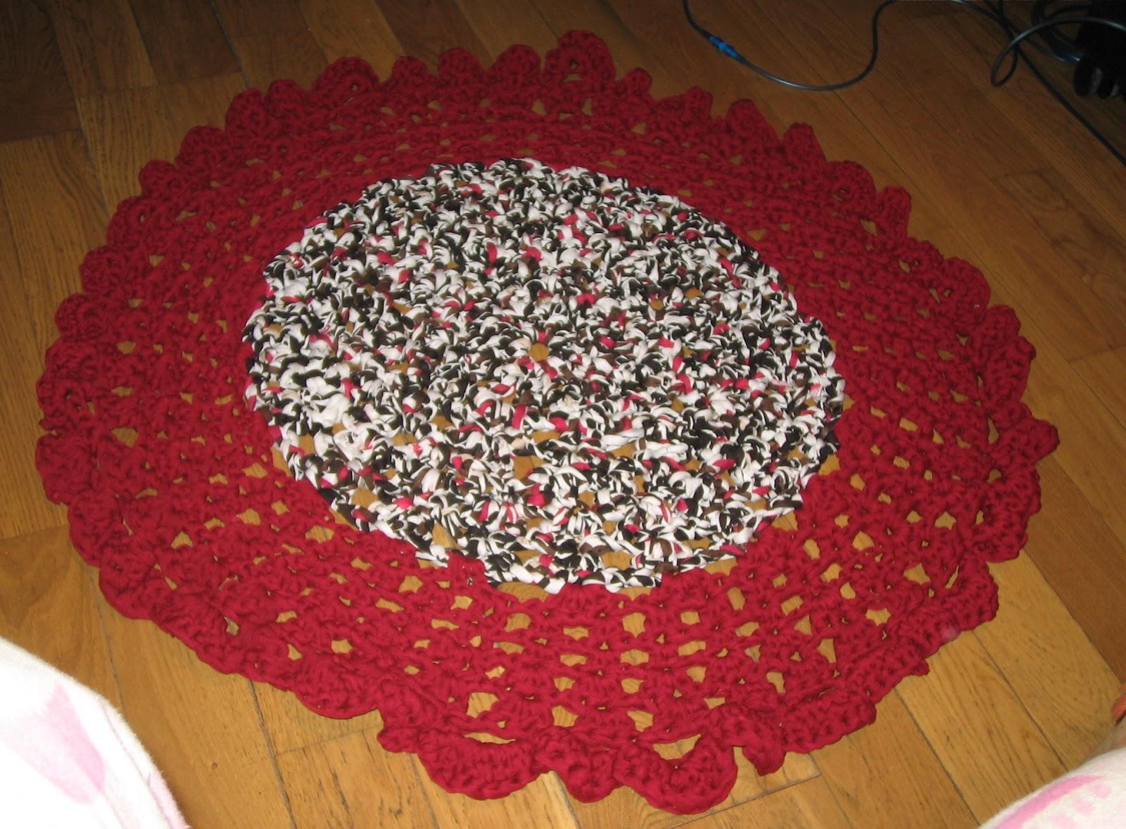 Mi primera alfombra de trapillo!