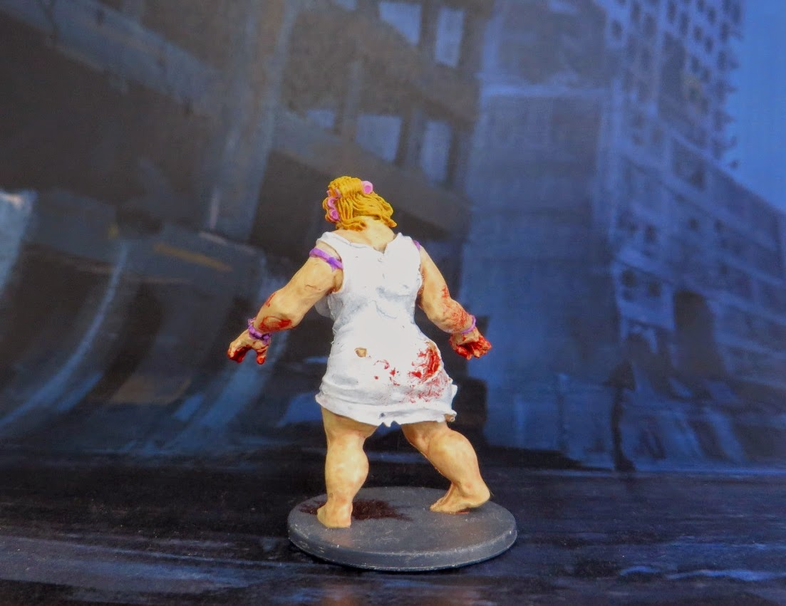 Zombicide, Painted, Fatty, Zombie