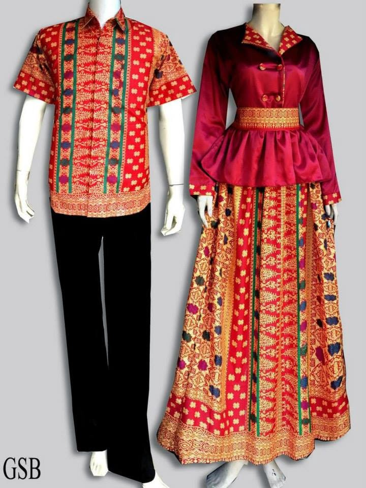 MODEL BAJU BATIK GSB  BATIK COUPLE