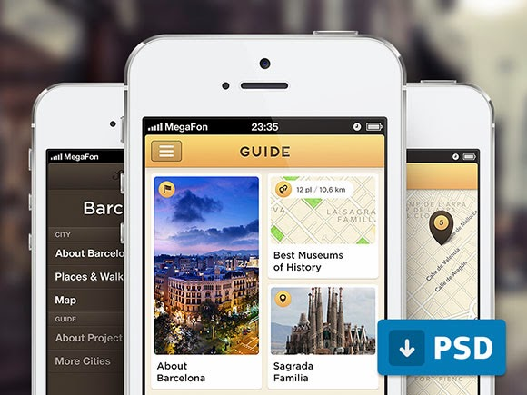 City guide APP Template for iPhone