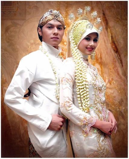 kebaya pengantin modern