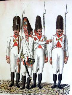 Los papeles perdidos de Rafael de Llanza y Valls (L'Aigle) Spanis+infantry+3