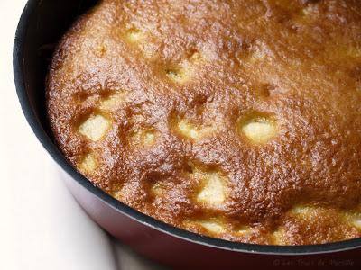 Gâteau aux pommes et au fromage blanc (voir la recette)