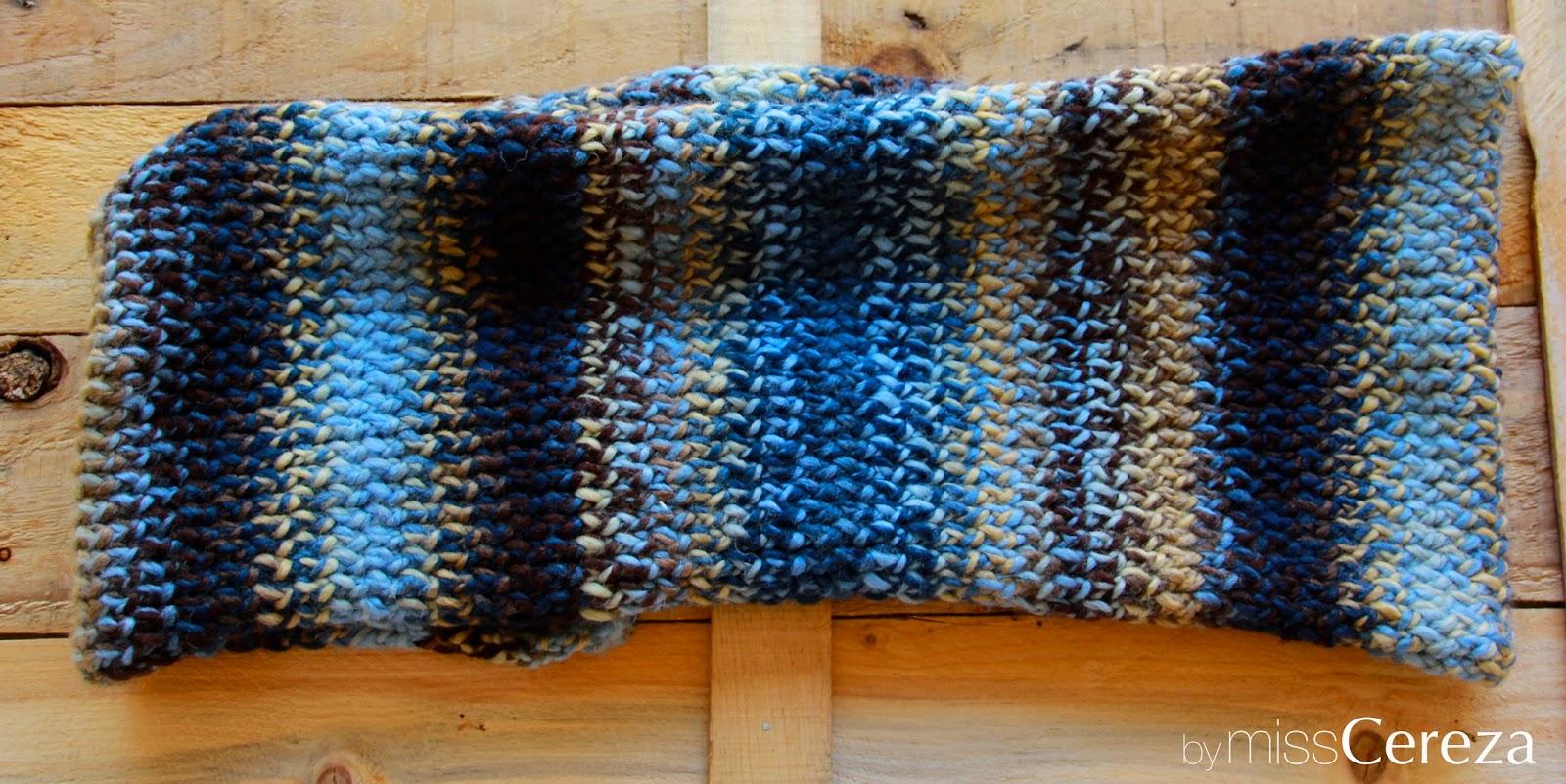 bufanda de doble vuelta