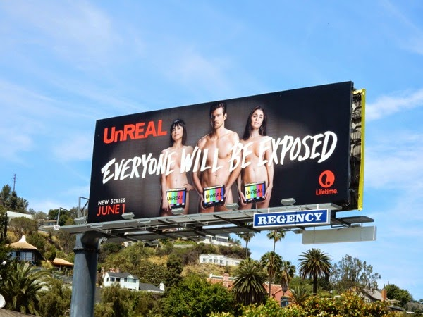 Unreal series premiere billboard