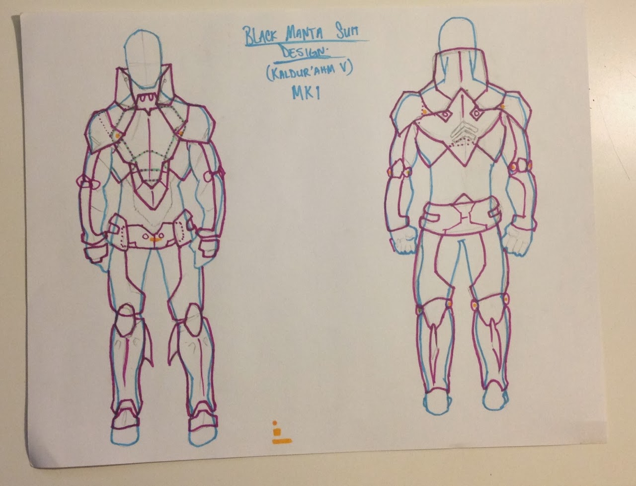KaotiK Projects: Young Justice: Aqualad\'s Black Manta armor.