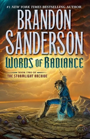 Book cover for Words of Radiance by Brandon Sanderson
