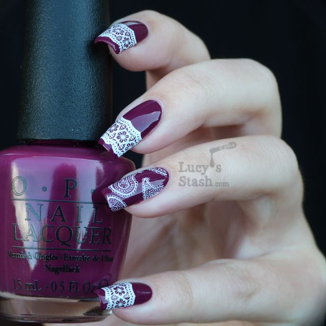 Lucy's Stash - Stamping nail art