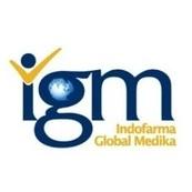 Logo PT Indofarma Global Medika