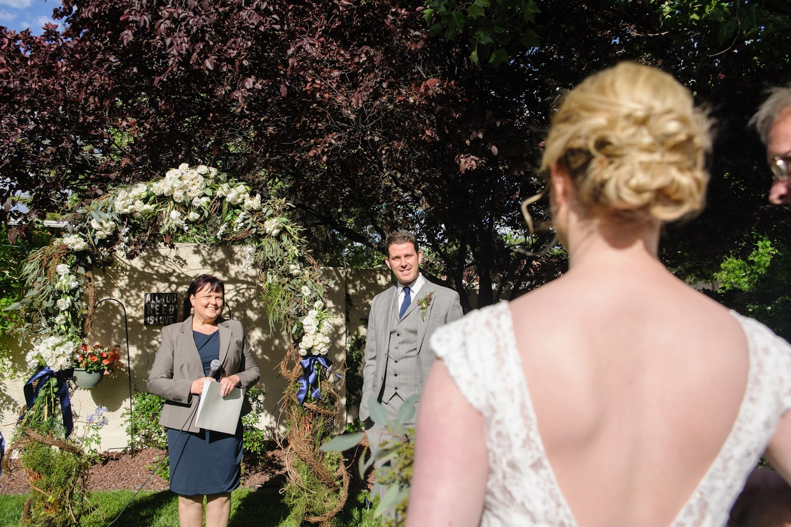 maura jane photography kara jon an intimate backyard wedding