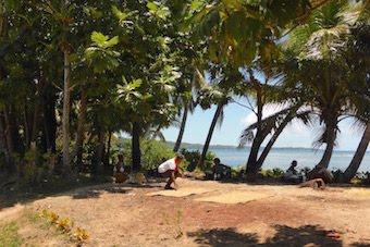 Terrain pour le nouveau site Rouge Beauté d'Ambatoroa