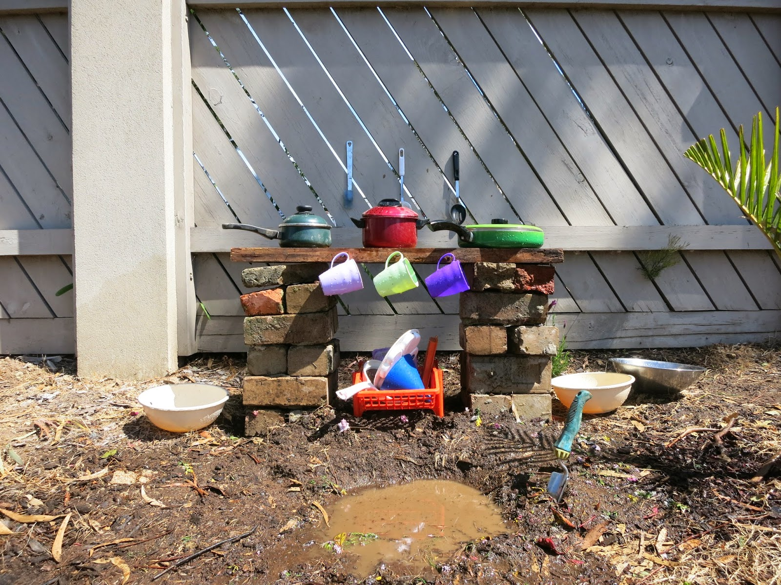 outdoor playground mud kitchen
