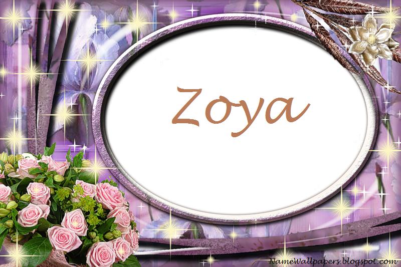 Zoya Name Wallpapers Zoya ~ Name Wallpaper Urdu Name ...