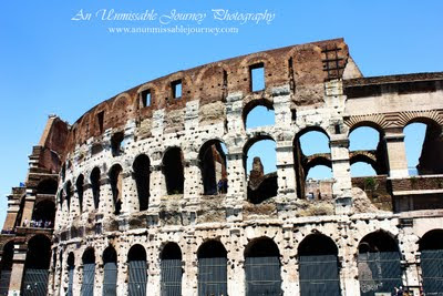 Travel Photos Marj indulging the beauty of the Colosseum Rome Italy