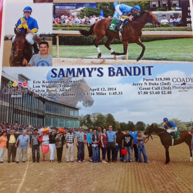 Sammy's Bandit - 3 time Oaklawn winner