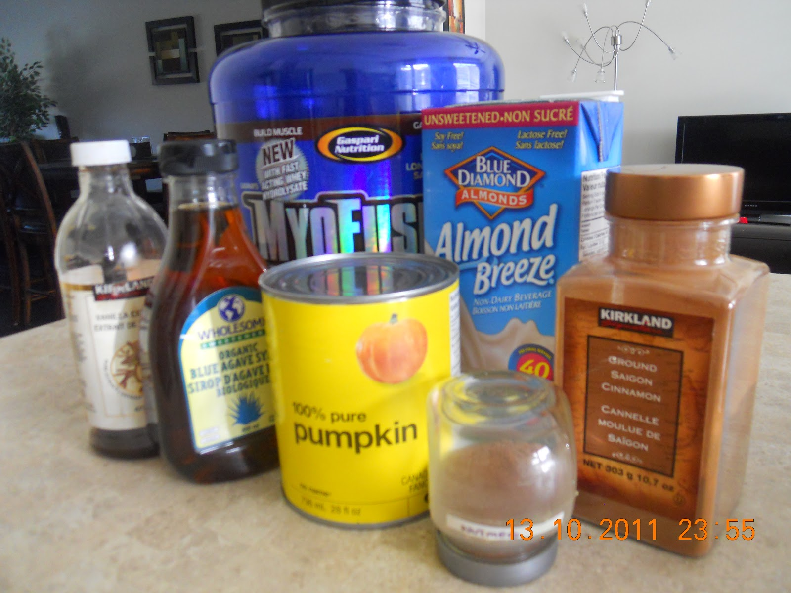 Tracy Steen FITNESS BLOG: Pumpkin Protein Shake!