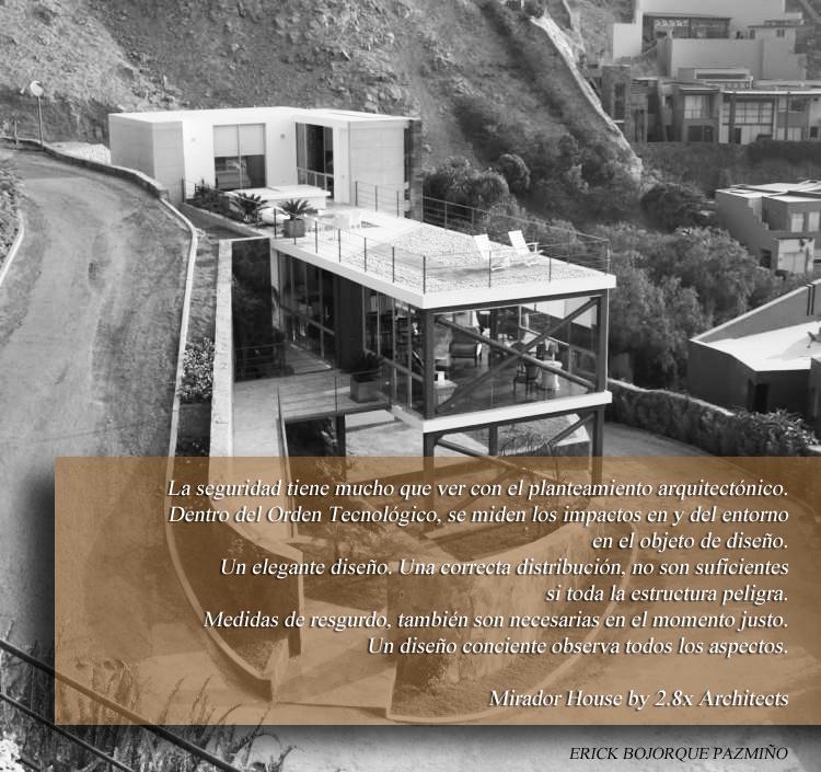 Analisis arquitectonico la seguridad tambi n es for Maestria en interiorismo arquitectonico