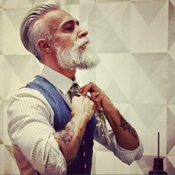 Top BLOG ENTRE ELES: Assuma os cabelos brancos, é um charme. VP45