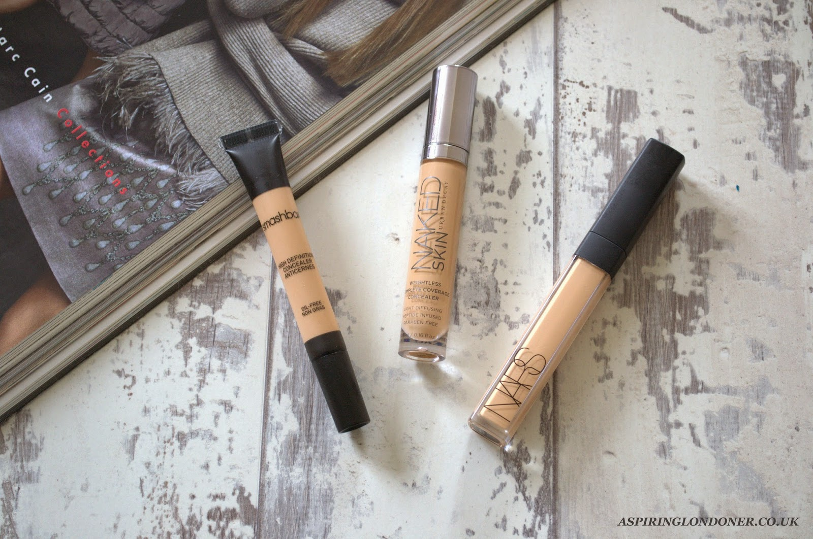 High End Concealers Worth The Money ft NARS, Urban Deacy, Smashbox - Aspiring Londoner
