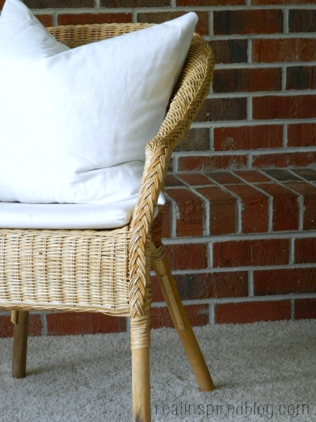 Agen Ikea Wicker Chair