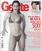 Claudia Raia Revista Istoé Gente, Edição 652