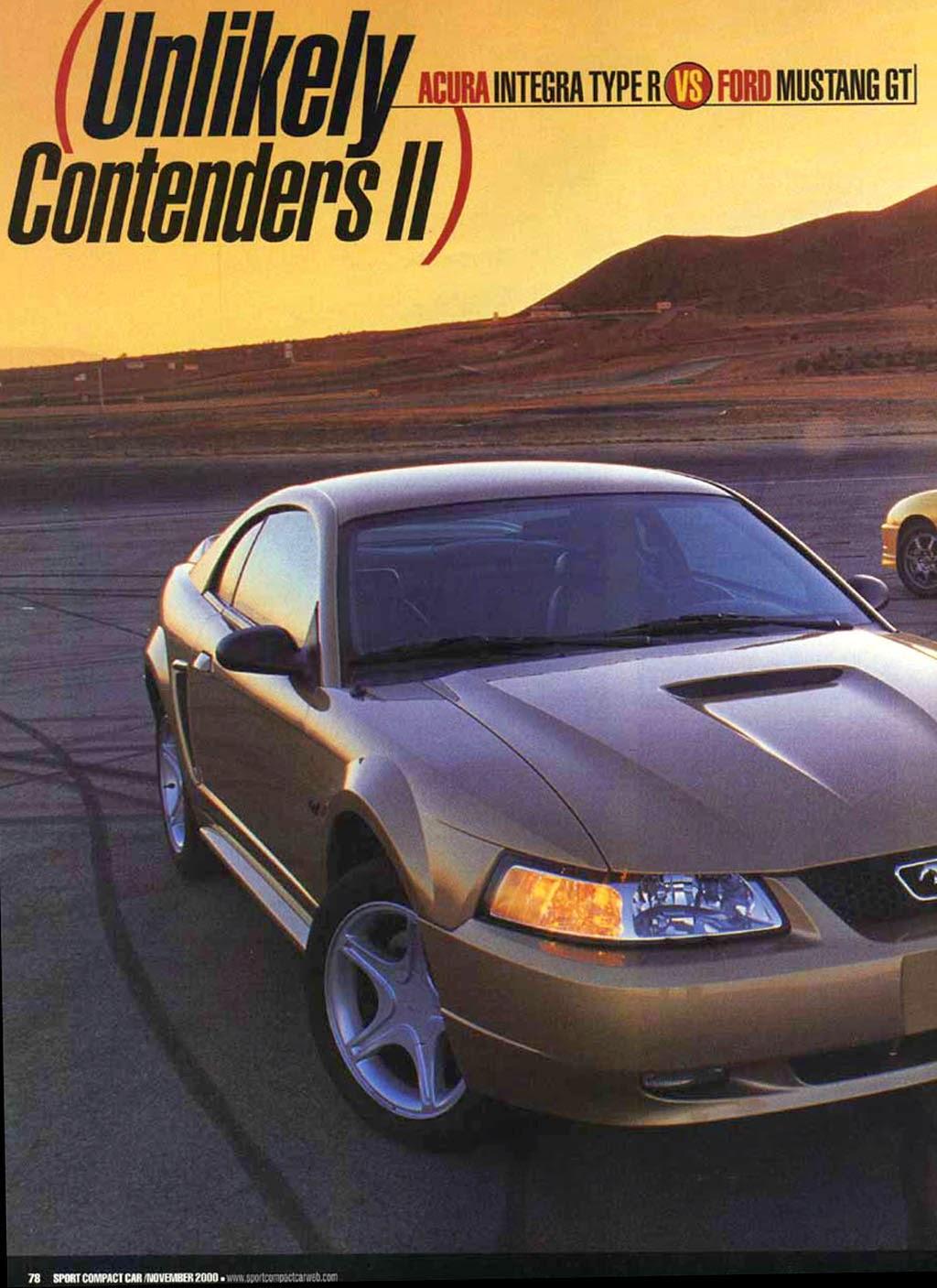 Integra Type R #1920 Project blog: (Sport Compact Car, November 2000) Acura Integra Type R vs ...