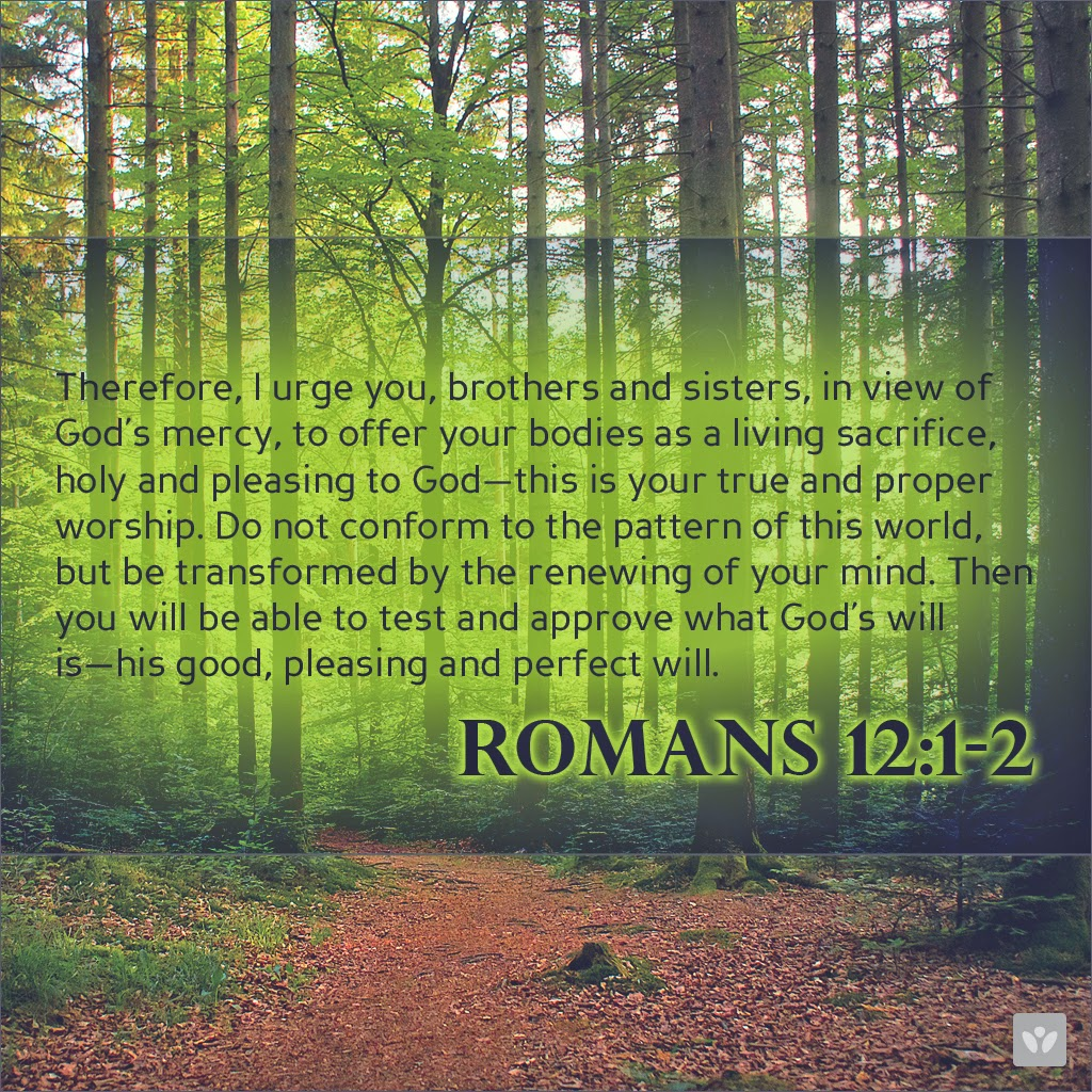 Where Living Sacrifice got their band name from - Bible - Romans 12-1