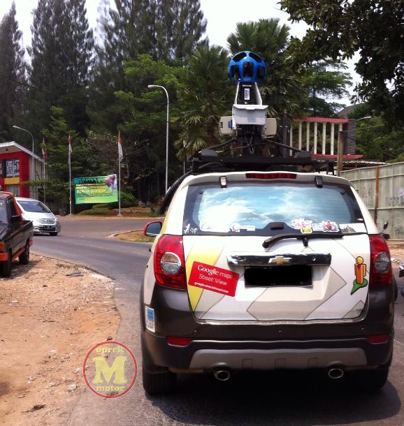 Bertemu Dengan Mobil Google Street View - Suatu Pengalaman Langka