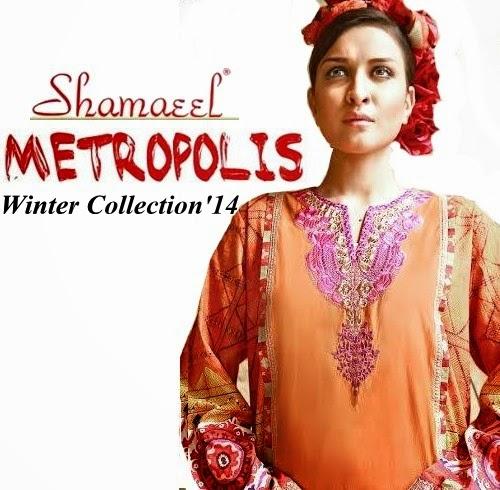 Shamaeel Ansari Winter Metropolis 2014