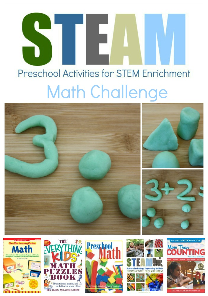 Preschool Math Activity | Learn to count, simple addition, 3 dimensional shapes, hands-on math activities for preschoolers