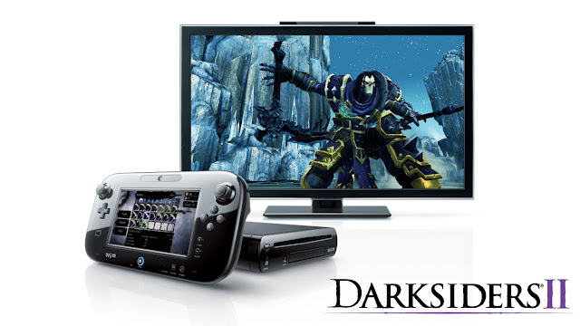 Darksiders II inventory on Wii U GamePad