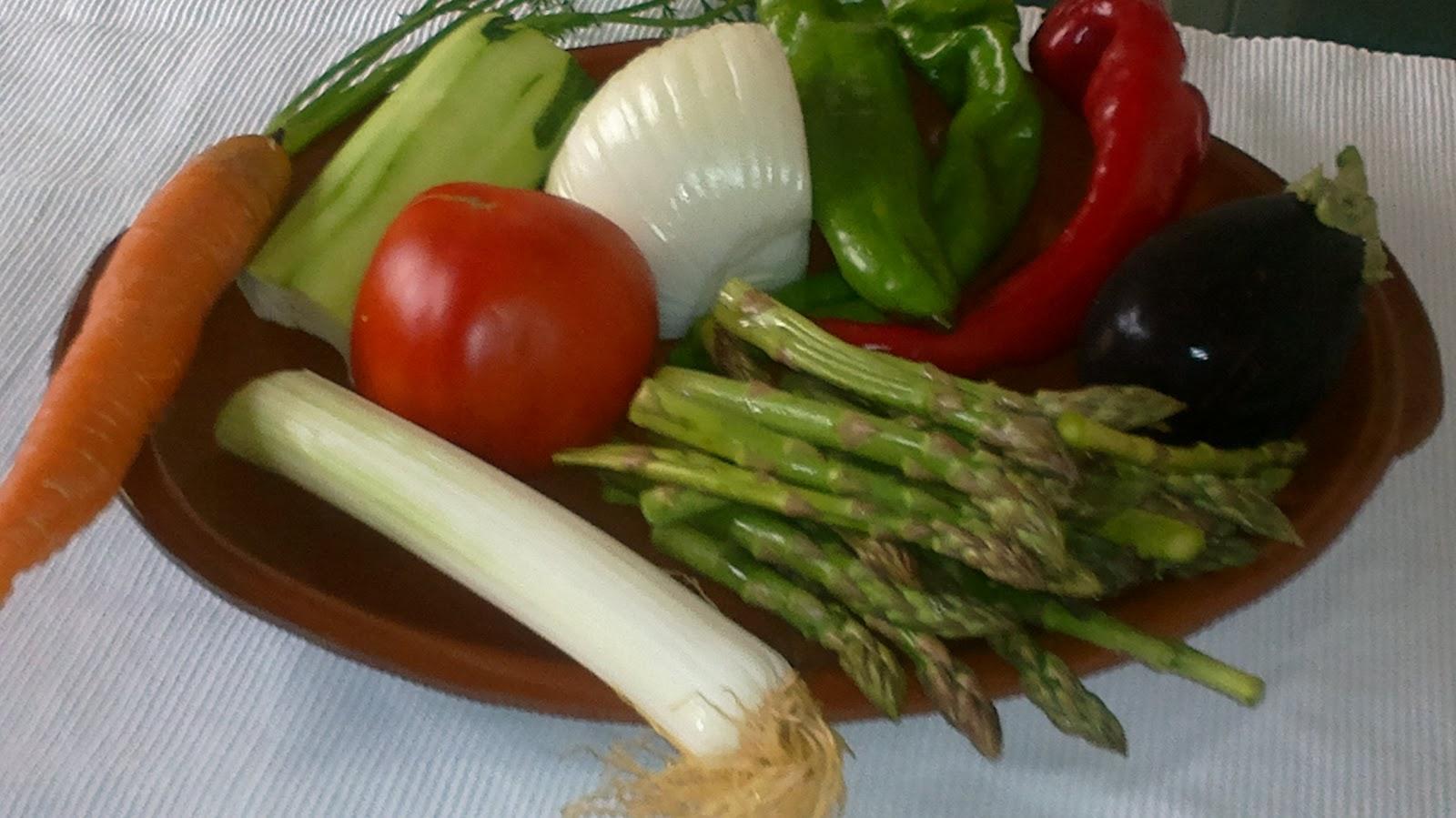 Las recetas de geny parrillada de verduras for Parrillada verduras