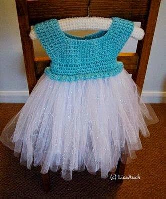 Crochet Baby Tutu Dress Pattern : Frozen Tutu Dresses How To Make Party Invitations Ideas