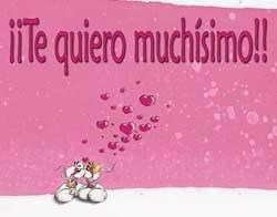 Frases De Amor: Te Quiero Muchísimo