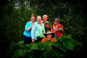 Rhubarb Ladies