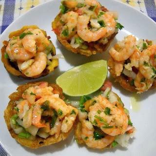 tostones+camarones+dominicano