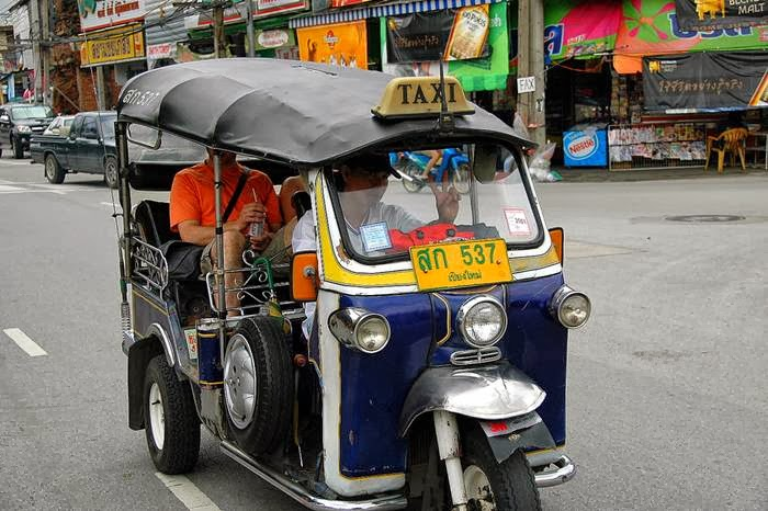 Tuk-Tuk Taxi, Chiang Mai, Thailand