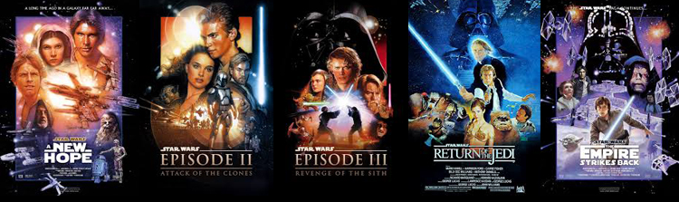 Order of star wars movies by release date