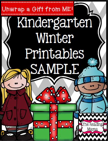 http://www.teacherspayteachers.com/Product/Winter-Printables-Freebie-Sample-Kindergarten-1595563