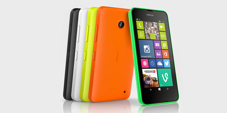 Nuevo Nokia Lumia 630