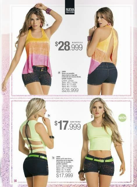 Blusas Escotadas Carmel C-1-15