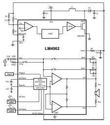 lm4962 speaker wiring circuit diagram owner and manual lm4962 speaker wiring circuit diagram