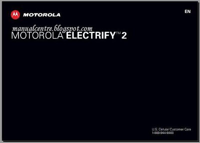 Motorola ELECTRIFY 2 manual