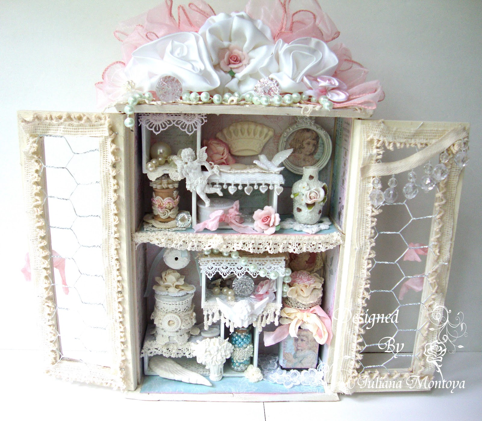 shabbychicjcouture shabby chic c 39 est la vie wardrobe shadow box. Black Bedroom Furniture Sets. Home Design Ideas