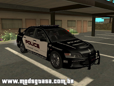 Mitsubishi Lancer Evo VIII MR Police Speed Enforcement Mitsubishi%20Lancer%20Evo%20VIII%20MR%20Police%20Speed%20Enforcement