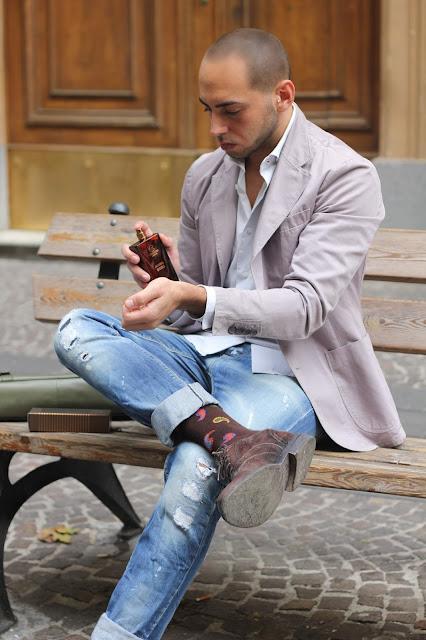 look elegante ma casual uomo
